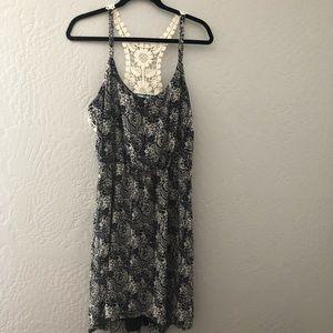 Maurice's Design Black Crochet Dress